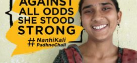 Educating girls Project Nanhi Kali