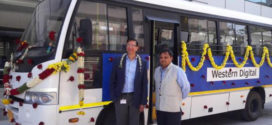 Akshaya Patra gets a donation of a TATA Star bus by Western Digital