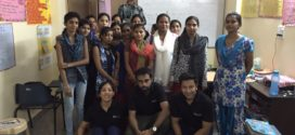 Underprivileged Youth being helped by Delhi Volunteers