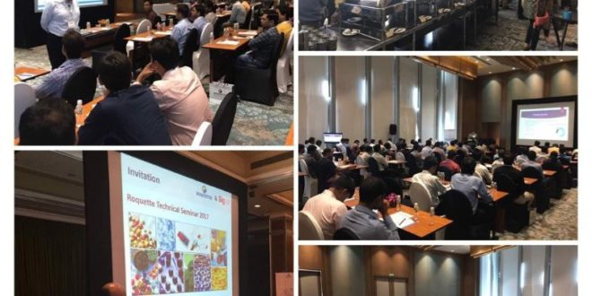 Technical Seminars in 4 cities- organized by Signet & Roquette