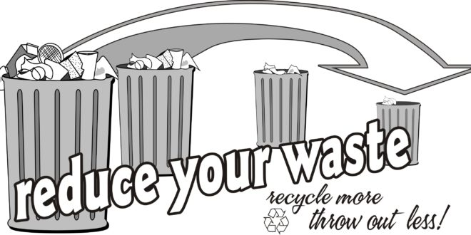 Recycle your trash..or trash your earth !